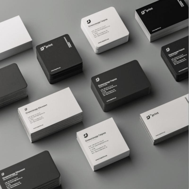 Визитки онлайн - дизайн и размеры визиток